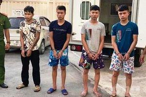 Bắt giữ 4 đối tượng trốn truy nã về tội danh giết người