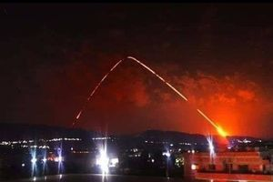 Latakia, Syria rung chuyển dữ dội từ loạt tên lửa trong đêm