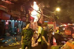 Chuỗi cửa hàng kinh doanh 'gặp nạn' trong vụ cháy liên hoàn tại Đê La Thành
