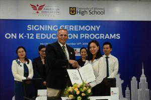 IAE ký hợp tác luyện thi tú tài với đại học Mỹ tại Việt Nam