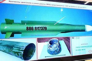 Nga chỉ số hiệu tên lửa Buk-M1 Ukraine bắn hạ MH17