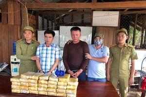 Phá vụ vận chuyển 200.000 viên ma túy từ nước ngoài vào Việt Nam