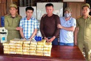 Biên phòng Quảng Trị bắt giữ 200.000 viên ma túy trên đất Lào