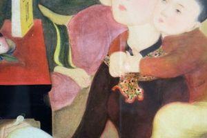 Đấu giá quốc tế bức tranh 'Gia đình' của Lê Phổ