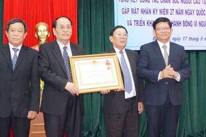Hội Người cao tuổi TP Đà Nẵng đón nhận Huân chương Lao động hạng Ba