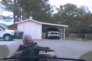 Video người đàn ông đấu súng, bắn tử vong hai cảnh sát Mỹ