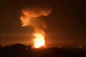 Thành phố cảng của Syria bị tên lửa tấn công từ biển?