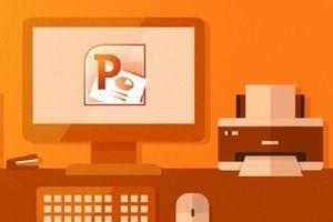 Cách in nhiều trang slide PowerPoint chỉ vào một trang giấy