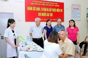 Hà Nội triển khai thực hiện Đề án Chăm sóc sức khỏe người cao tuổi