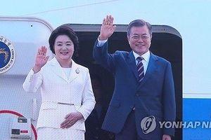 Sáng nay, Tổng thống Hàn Quốc lên đường đến Triều Tiên
