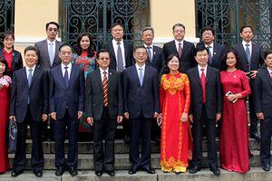 Đoàn TANDTC Trung Quốc thăm, làm việc với TAND Tp Hồ Chí Minh