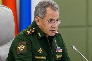 Bộ trưởng Quốc phòng Nga Shoigu: Sẽ không có chiến dịch quân sự ở Idlib