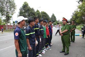 Công an TP Cần Thơ tập luyện hăng say trước hội thi nghiệp vụ cứu nạn, cứu hộ