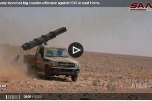 Clip: Quân đội Syria giáng đòn trả đũa IS dữ dội ở Đông Homs