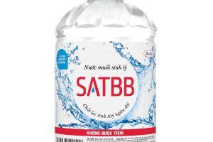 Nước muối SATBB bị thu hồi do không đạt chuẩn chất lượng