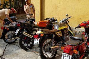 Huế: Phát hiện nhiều xe mô tô 'siêu sang' không rõ nguồn gốc xuất xứ