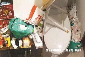 Không chỉ ở bẩn, cư dân mạng còn 'lắc đầu ngao ngán' với nhóm nữ sinh Trung Quốc vì hành động này