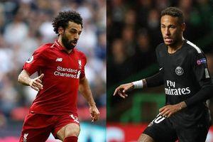 Liverpool - PSG: Salah sẽ lại vượt qua Neymar?