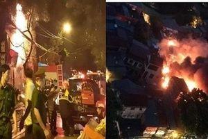 Con số thiệt hại cực lớn sau vụ cháy kinh hoàng tại đường Đê La Thành