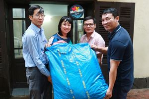 Công ty TNHH Ricoh Việt Nam ủng hộ quần áo trẻ em cho Mottainai 2018