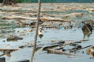 Nghệ An: Xử lý tình trạng rác thải ở thủy điện Bản Vẽ