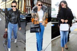 4 kiểu quần jeans cực thời thượng cho các nàng diện thỏa thích suốt mùa thu năm nay