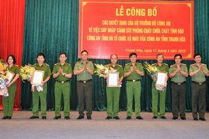 Sau sáp nhập, Công an Thanh Hóa có 8 Phó giám đốc