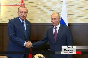 Nga và Thổ Nhĩ Kỳ nhất trí thiết lập khu vực phi quân sự tại Idlib (Syria)
