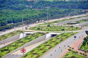 Phân luồng phục vụ mở rộng đại lộ Thăng Long đến đường 70