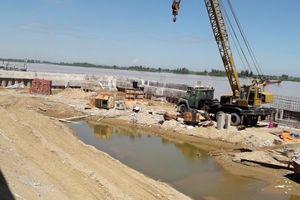 Vụ lấp hàng nghìn mét vuông sông Mã: Tỉnh không đồng ý chủ trương làm bến thủy nội địa