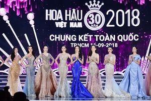 Top 15 Hoa hậu Việt Nam 2018 lộng lẫy trong trang phục dạ hội
