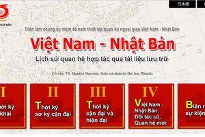 Lần đầu tiên có triển lãm trực tuyến về quan hệ hợp tác Việt Nam – Nhật Bản
