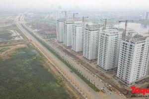 Cận cảnh con đường 5000 tỷ nối bốn quận, huyện Hà Nội sắp khánh thành