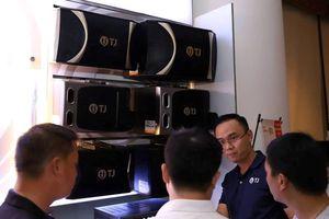 Hãng loa karaoke TJ của Hàn Quốc chính thức vào Việt Nam