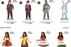Thuê trang phục biểu diễn cho mùa Trung thu