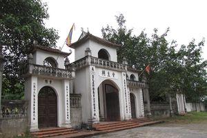 Khai mạc lễ hội truyền thống đền An Sinh