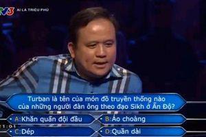Câu hỏi cột mốc trị giá 22 triệu của người chơi 'Ai là triệu phú'