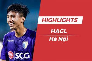 Highlights HAGL 3-5 CLB Hà Nội: Mưa bàn thắng