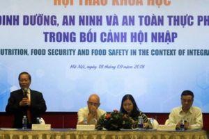 Cần nhiều giải pháp để giải quyết vấn đề an toàn thực phẩm