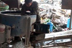 Quảng Ninh: Cơ sở tái chế nhựa phế phẩm xả 'độc' ra môi trường