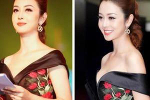 HH Jennifer Phạm mặc đầm đen hở vai khoe da trắng sứ đẹp lộng lẫy
