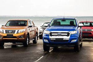 Xe bán tải tại VN sẽ hết 'hot' nếu tăng phí trước bạ