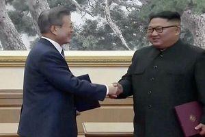 Tiết lộ nội dung chính thỏa thuận chung của thượng đỉnh liên Triều