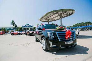 Cadillac Escalade tiền tỷ biển 'ngũ quý 3' rước dâu ở Hải Phòng