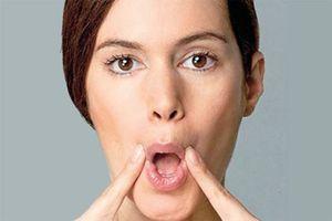 5 bài tập giảm nhăn da mặt