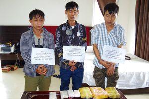Phá chuyên án 483-LP bắt 3 đối tượng mua bán trái phép ma túy tổng hợp