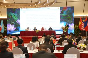 Các đại biểu nhất trí thông qua nội dung Dự thảo 'Tuyên bố Hà Nội'