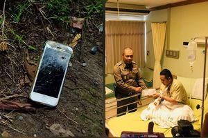 iPhone đỡ đạn găngxtơ, cứu mạng cảnh sát Thái