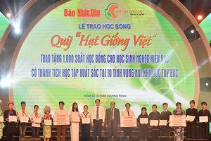 Tập đoàn Mường Thanh tặng 1.000 suất học bổng cho học sinh miền núi phía Bắc