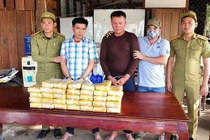 Quảng Trị: Liên tiếp bắt giữ 2 vụ án vận chuyển ma túy 'khủng' ở vùng biên giới